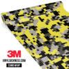 Iron Yellow Digital Camo Regular Vinyl Wrap Main