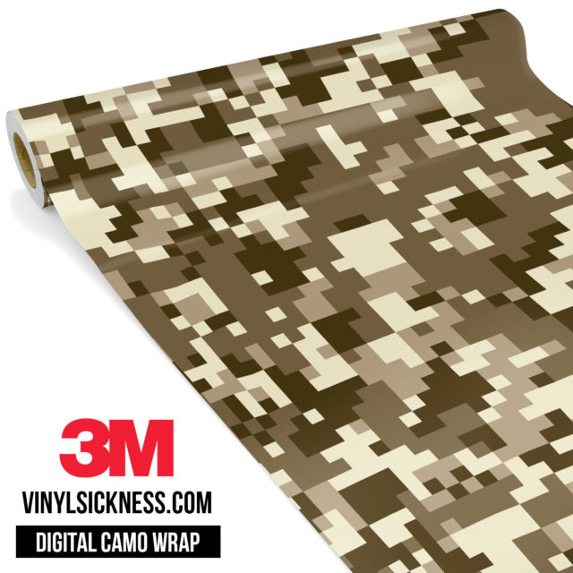 Jdm Digital Camo Desert Vinyl Wrap Regular