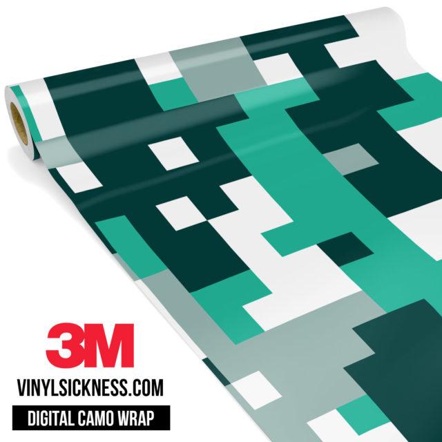 Jdm Digital Camo Ice Vinyl Wrap Large