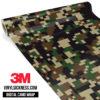 Jdm Digital Camo Military Vinyl Wrap Regular