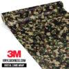 Jdm Digital Camo Military Vinyl Wrap Small