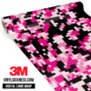 Jdm Digital Camo Pink Vinyl Wrap Regular