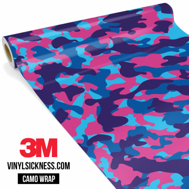 Jdm Premium Camo Candy Pop Vinyl Wrap Regular