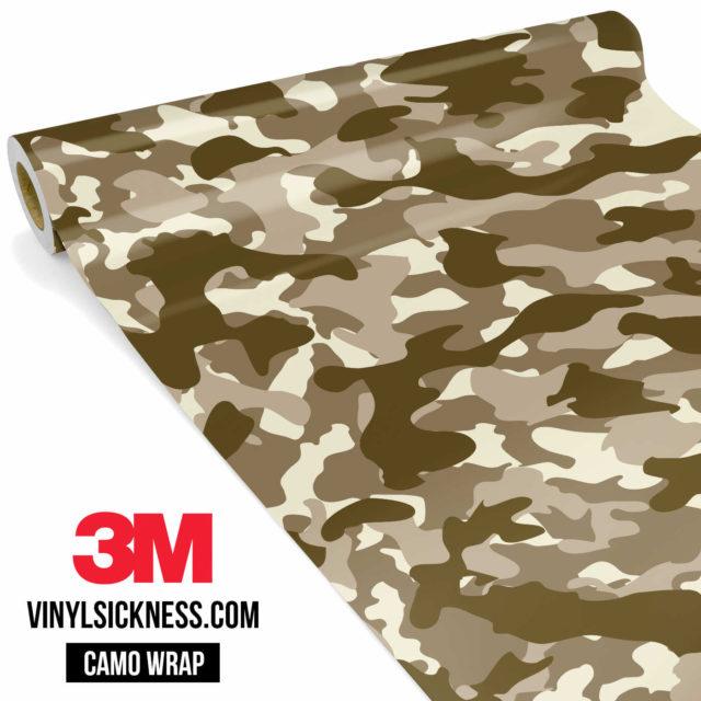 Jdm Premium Camo Desert Vinyl Wrap Regular