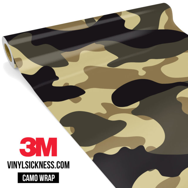 Jdm Premium Camo High Desert Vinyl Wrap Large