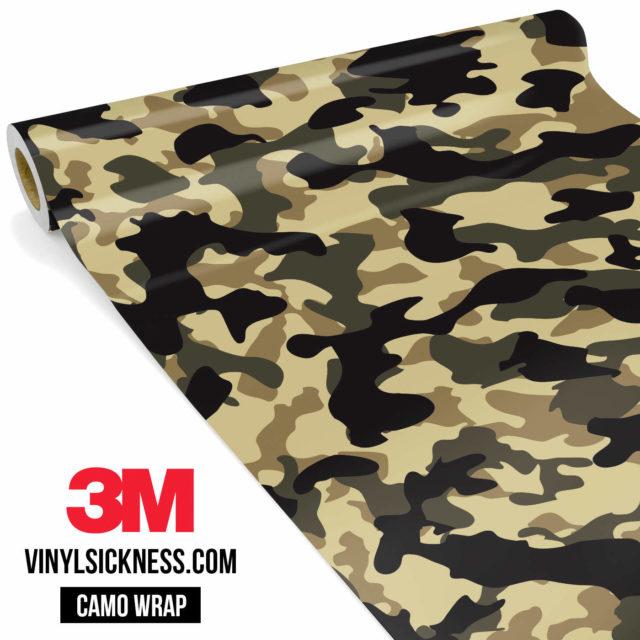 Jdm Premium Camo High Desert Vinyl Wrap Regular