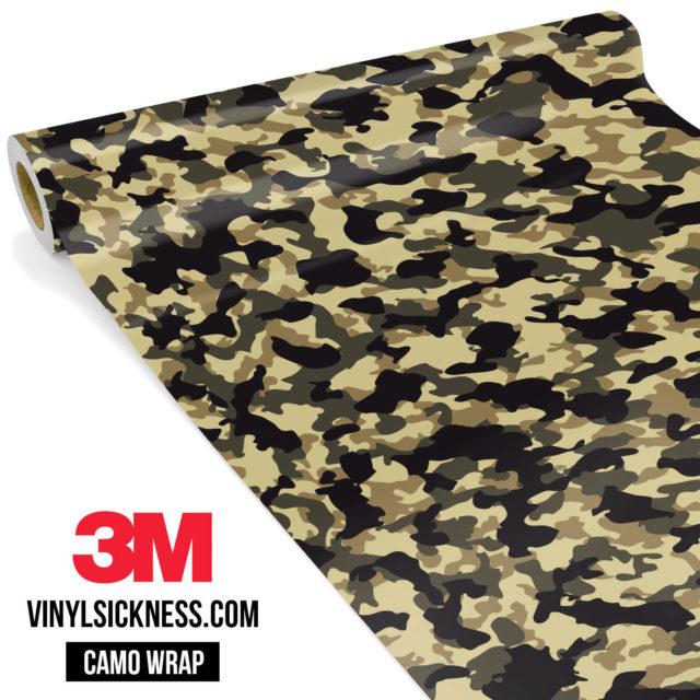 Jdm Premium Camo High Desert Vinyl Wrap Small