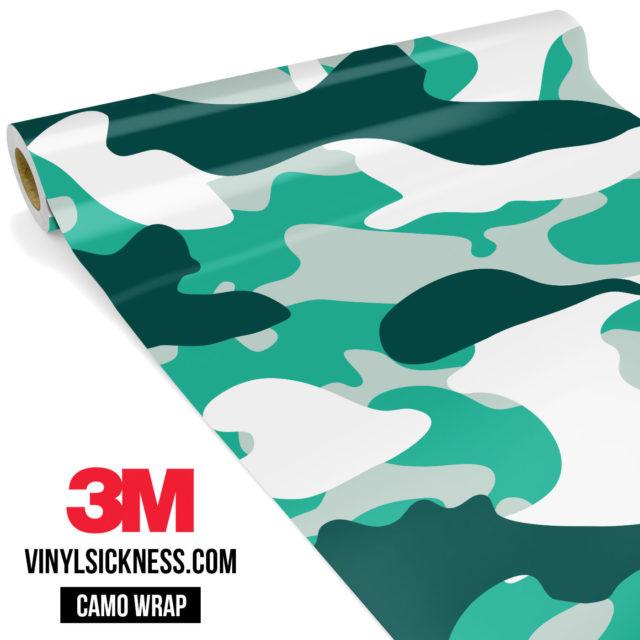 Jdm Premium Camo Ice Vinyl Wrap Large