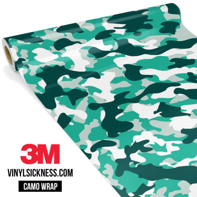 Jdm Premium Camo Ice Vinyl Wrap Regular