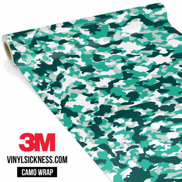 Jdm Premium Camo Ice Vinyl Wrap Small