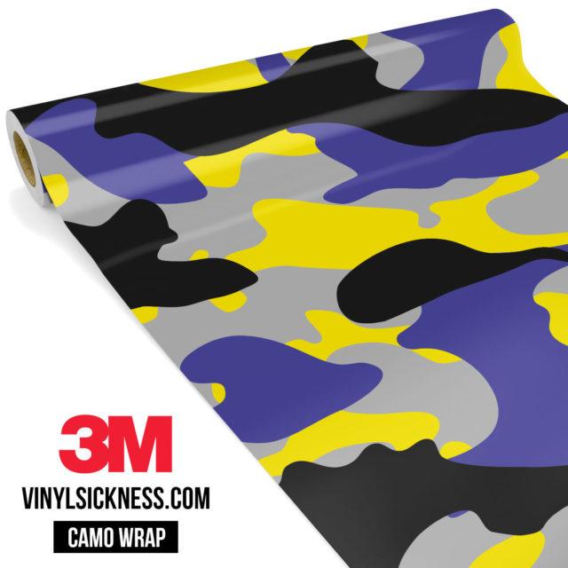 Jdm Premium Camo Lavender Vinyl Wrap Large