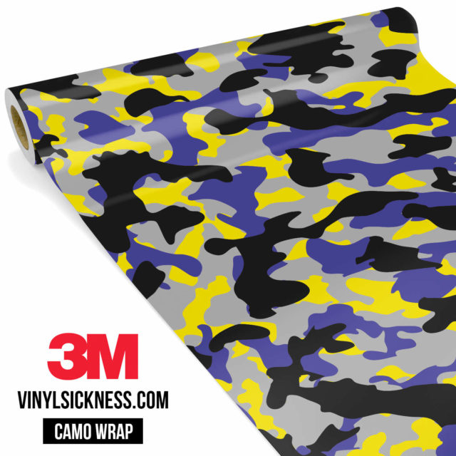 Jdm Premium Camo Lavender Vinyl Wrap Regular