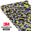 Jdm Premium Camo Lavender Vinyl Wrap Small
