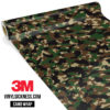 Jdm Premium Camo Military Vinyl Wrap Small