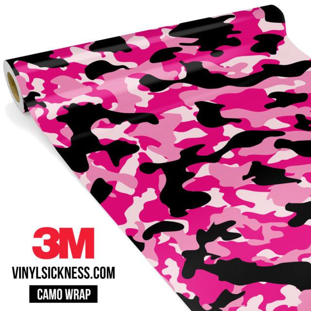 Jdm Premium Camo Pink Vinyl Wrap Regular