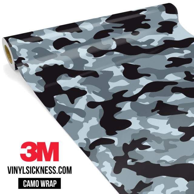 Jdm Premium Camo Seal Vinyl Wrap Regular