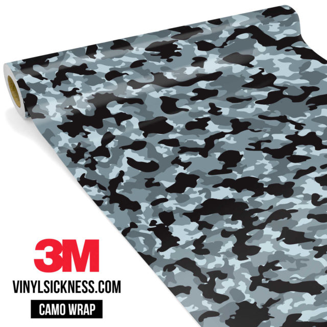 Jdm Premium Camo Seal Vinyl Wrap Small