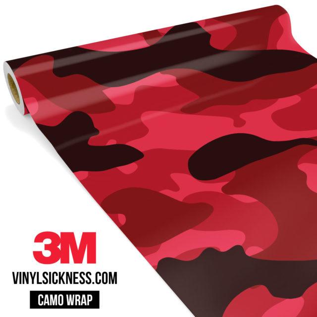 Jdm Premium Camo Vampire Vinyl Wrap Large