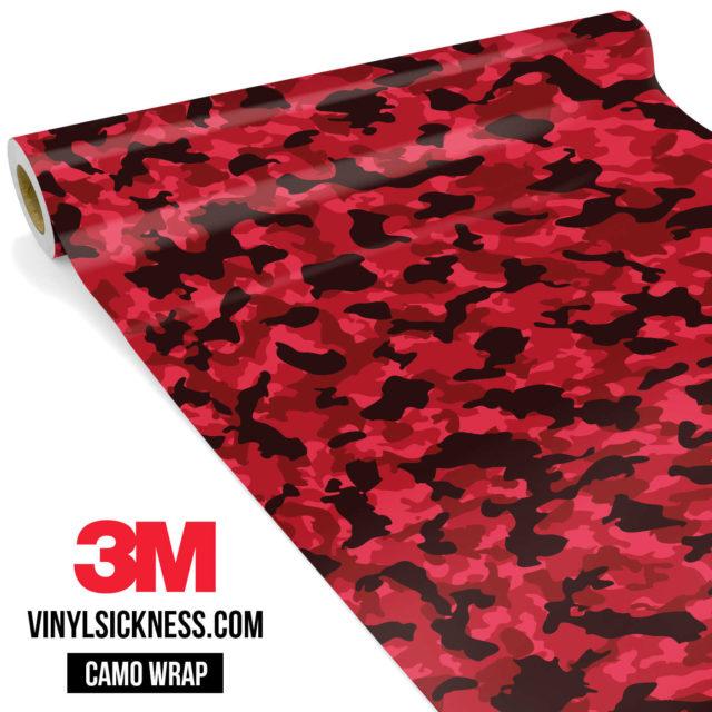 Jdm Premium Camo Vampire Vinyl Wrap Small