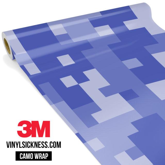 Jdm Premium Camo Venture Violet Digital Vinyl Wrap Large