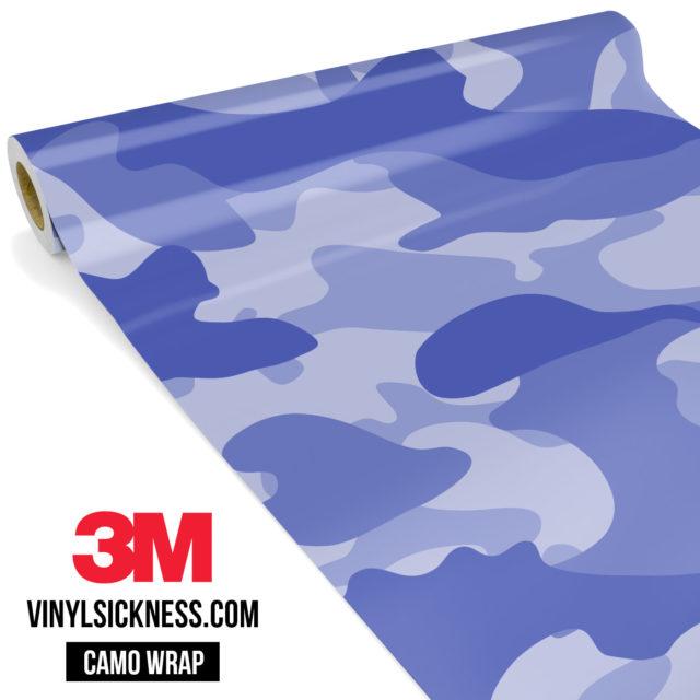 Jdm Premium Camo Venture Violet Vinyl Wrap Large
