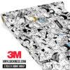 Jdm Premium Sticker Bomb Meme Vinyl Wrap Regular