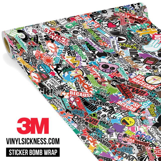 Jdm Premium Sticker Bomb Vs Vinyl Wrap Small