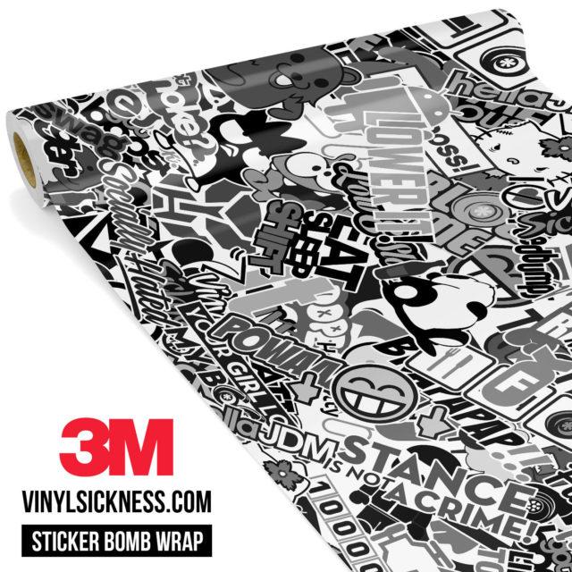 Jdm Premium Sticker Bomb Vsbw Vinyl Wrap Large
