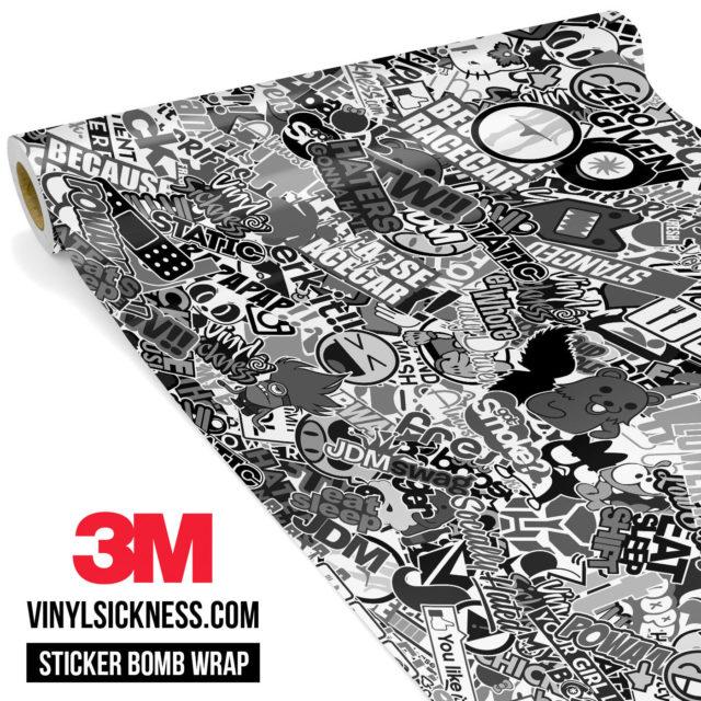 Jdm Premium Sticker Bomb Vsbw Vinyl Wrap Regular