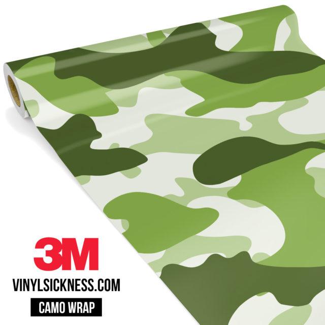 Light Army Camo Large Vinyl Wrap Main