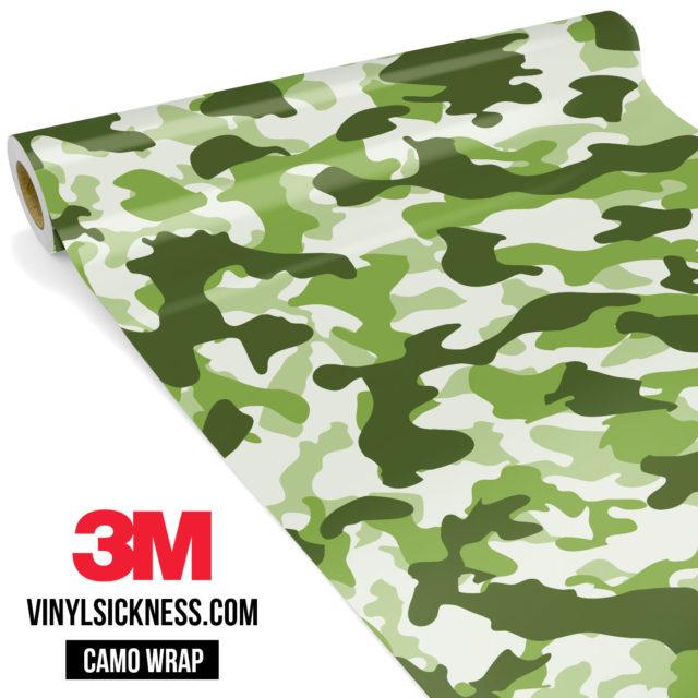Light Army Camo Regular Vinyl Wrap Main