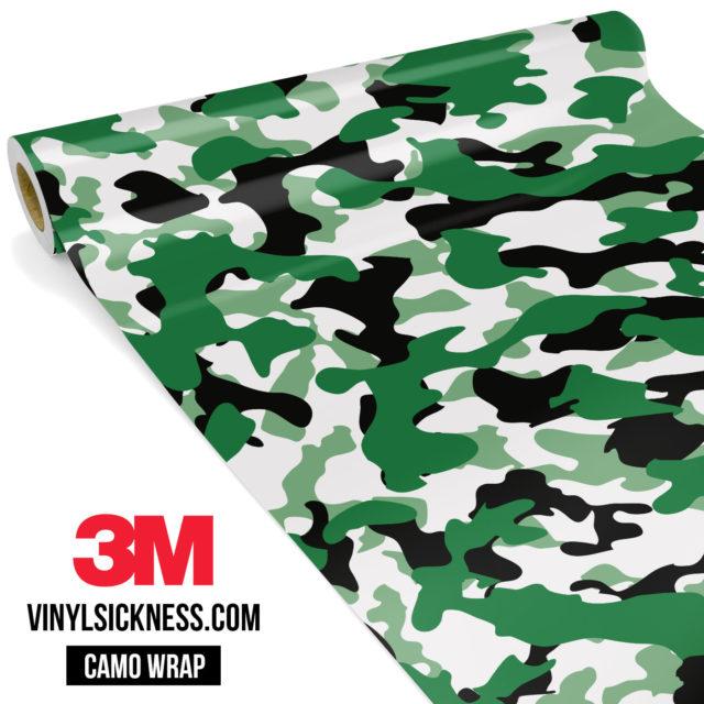Light Jungle Green Camo Regular Vinyl Wrap Main