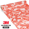 Light Salmon Camo Regular Vinyl Wrap Main