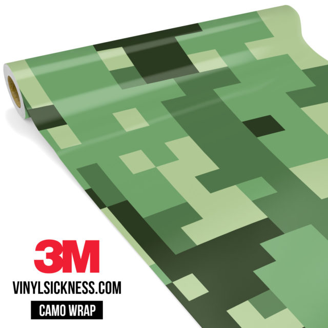 Majestic Lake Digital Camo Large Vinyl Wrap Main