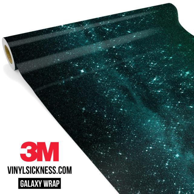 Mint Galaxy Vinyl Wrap Main