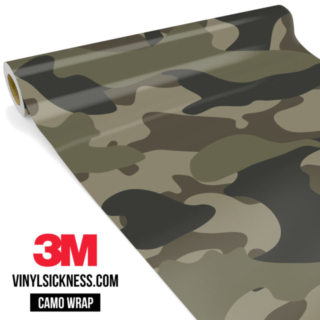 Moss Stone Camo Large Vinyl Wrap Main