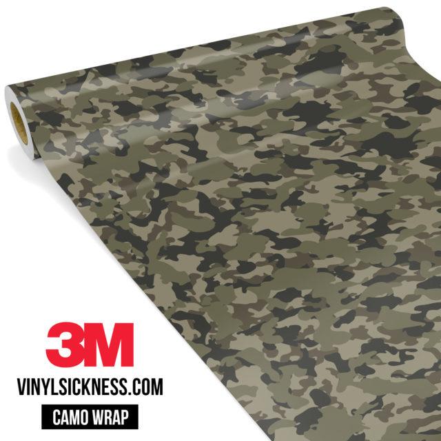 Moss Stone Camo Small Vinyl Wrap Main