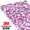 Mulberry Pink Camo Small Vinyl Wrap Main