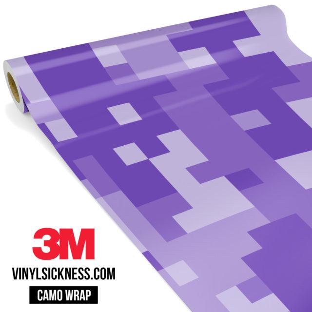 Orchid Purple Digital Large Vinyl Wrap Main