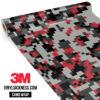 Persian Steel Digital Regular Vinyl Wrap Main