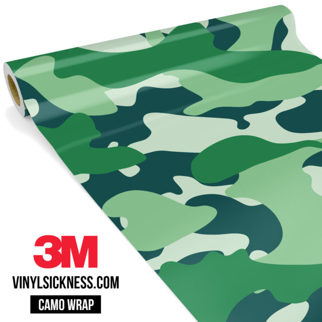 Pine Fern Camo Large Vinyl Wrap Main