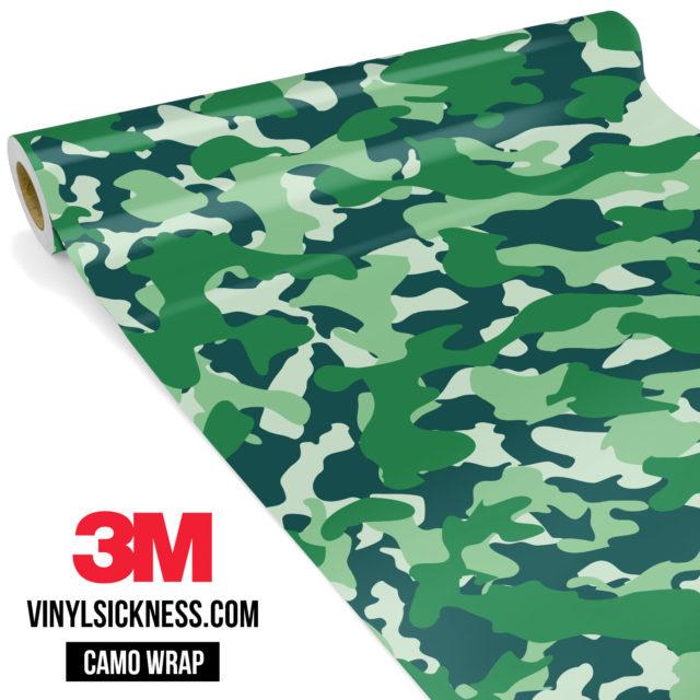 Pine Fern Camo Regular Vinyl Wrap Main