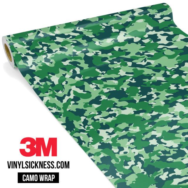 Pine Fern Camo Small Vinyl Wrap Main