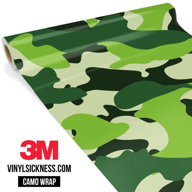 Pine Pear Camo Large Vinyl Wrap Main