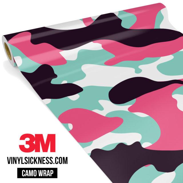 Pink Sky Camo Large Vinyl Wrap Main