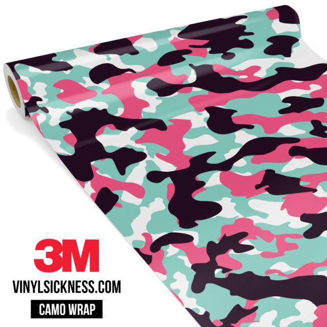 Pink Sky Camo Regular Vinyl Wrap Main