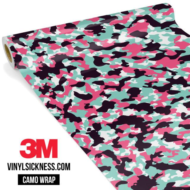 Pink Sky Camo Small Vinyl Wrap Main