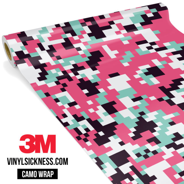 Pink Sky Digital Camo Regular Vinyl Wrap Main