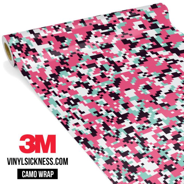 Pink Sky Digital Camo Small Vinyl Wrap Main