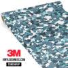 Pistachio Camo Small Vinyl Wrap Main